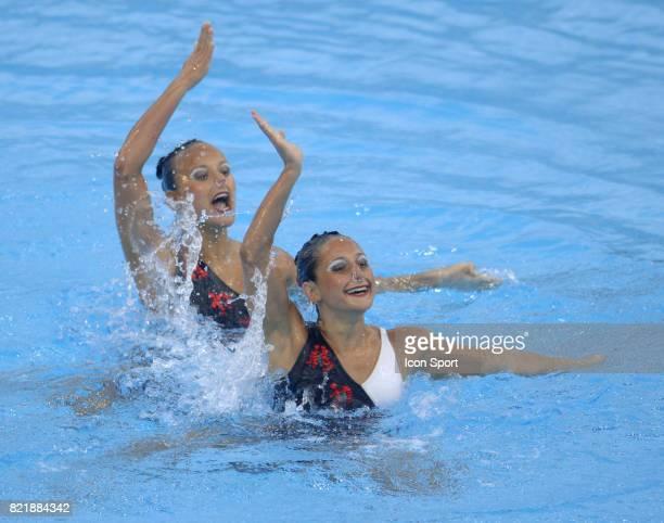 Salome LAFAY et Lila MEESEMAN BAKIR Championnats du monde Finale Duo Natation Synchronisee Montreal
