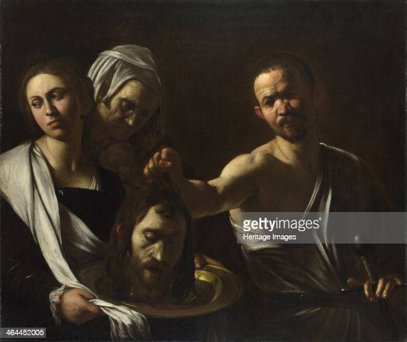 Salome receives the Head of John the Baptist c 16081610 Found in the collection of the National Gallery London