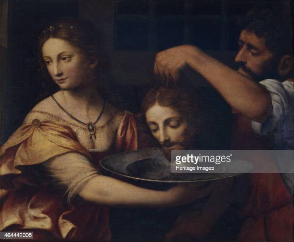 Salome receives the Head of John the Baptist Found in the collection of the Museo del Prado Madrid
