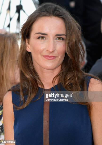 Salome Stevenin attends the Closing Ceremony during the 70th annual Cannes Film Festival at Palais des Festivals on May 28 2017 in Cannes France