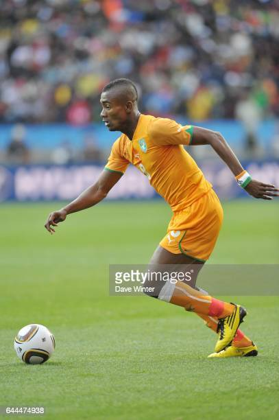 Salomon KALOU Cote d'Ivoire / Portugal Coupe du Monde 2010 Match 13 Groupe G Nelson Mandela Bay Stadium Port Elizabeth Afrique du Sud Photo Dave...
