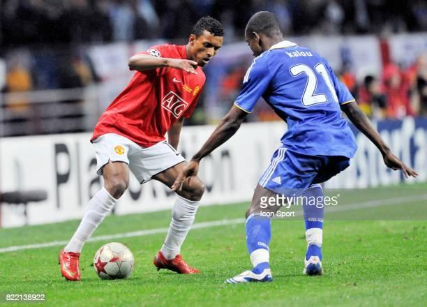 NANI / Salomon KALOU Manchester United / Chelsea Finale Champions League 2007/2008 Moscou
