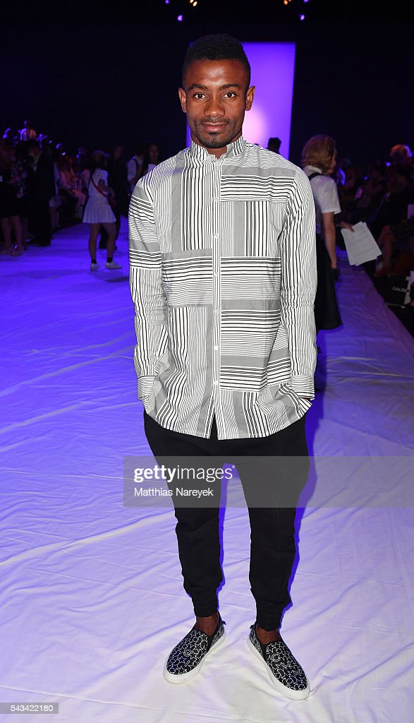 <a gi-track='captionPersonalityLinkClicked' href=/galleries/search?phrase=Salomon+Kalou&family=editorial&specificpeople=453312 ng-click='$event.stopPropagation()'>Salomon Kalou</a> attends the Odeur show during the Mercedes-Benz Fashion Week Berlin Spring/Summer 2017 at Erika Hess Eisstadion on June 28, 2016 in Berlin, Germany.