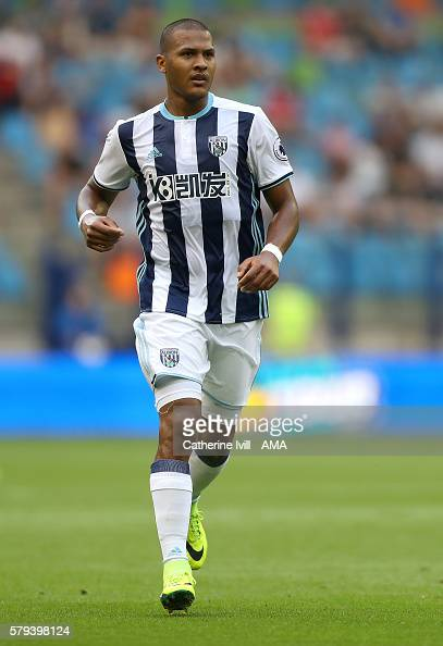 Salomon Rondon of West Bromwich Albion during the match between Vitesse Arnhem and West Bromwich Albion at Gelredome on July 21 2016 in Arnhem...