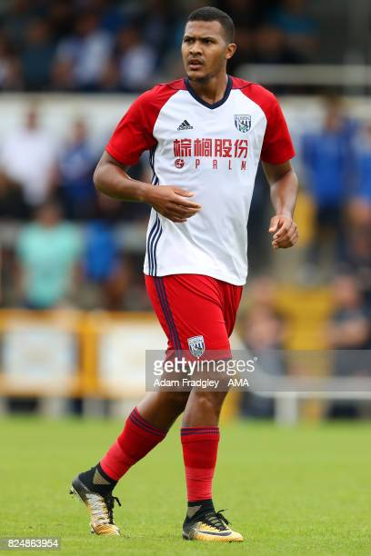 Salomon Rondon of West Bromwich Albion during the Pre Season Friendly match between Bristol Rovers and West Bromwich Albion at Memorial Stadium on...
