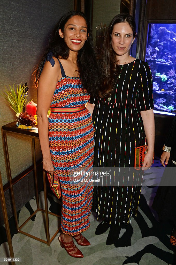 saloni-lodha-and-tatiana-casiraghi-attend-the-launch-of-the-new-venyx-picture-id524614332