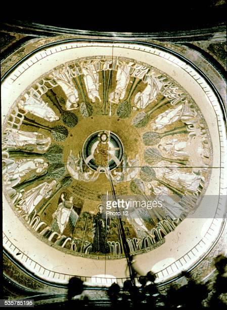 Salonika Dome of Hagia Sophia 9th century Byzantine art