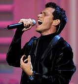 Salsa singer Marc Anthony performs 12 December 2000 at the Sports Illustrated Sportsman of the Year Awards in New York City AFP PHOTO/Matt CAMPBELL