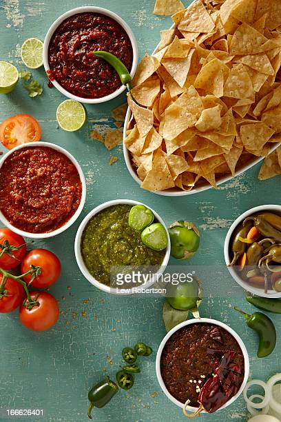 Salsas and chips