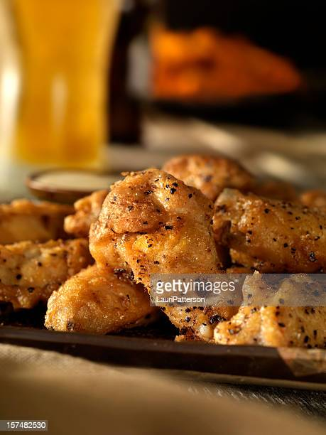 Salt and Pepper Buffalo Wings