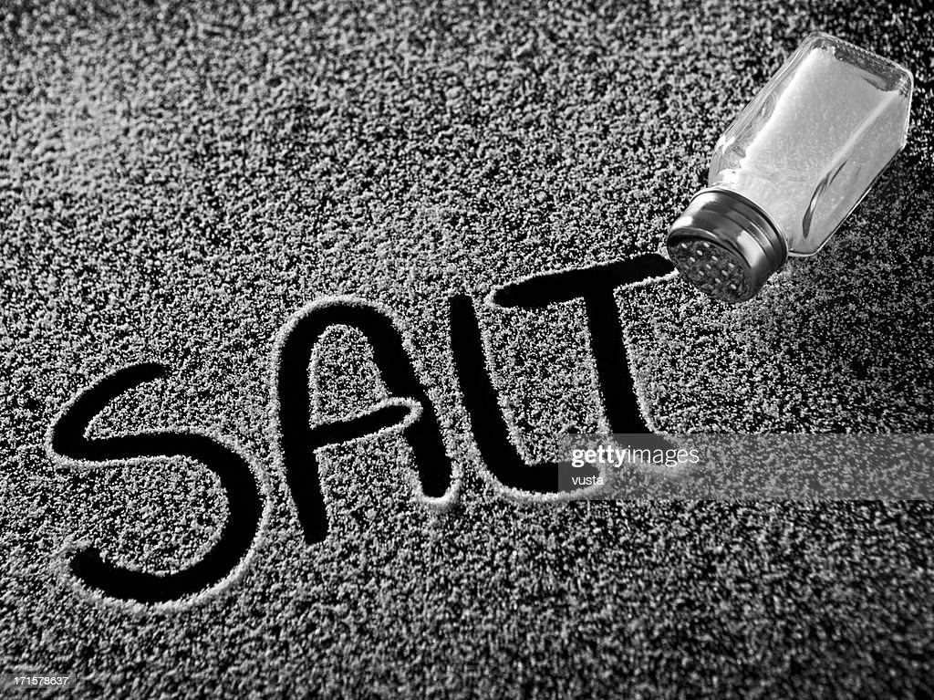 salt and shaker