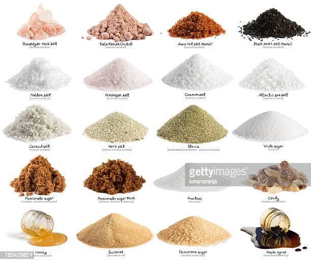 Salz und Zucker. XXL