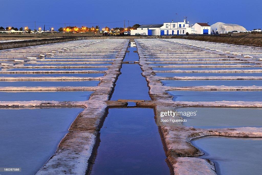 Salt Beds - Tavira, Portugal