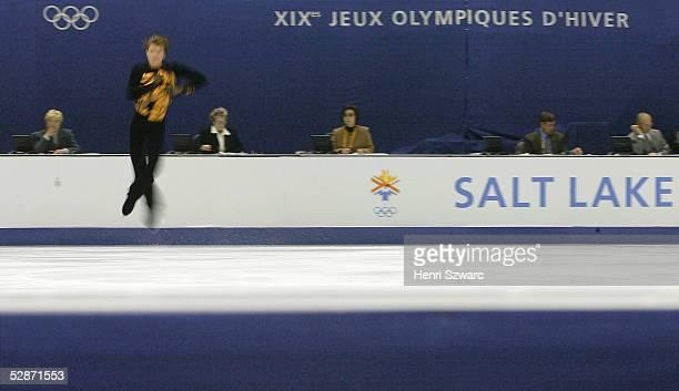 CITY 2002 Salt Lake City MAENNER/KUER Alexei YAGUDIN /RUS GOLD Wertungsrichter