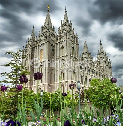Lds Salt Lake City Temple Stock Photo | Thinkstock