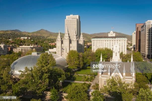 Salt Lake City Temple Square historic landmarks Utah