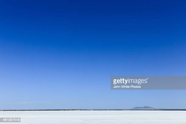 Salt Lake. Eyre Peninsula. South Australia.