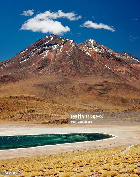 Salt lake in the chilenean atacama