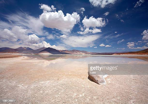 Salt lake, Salar de Altiplano-Atacama, Chile