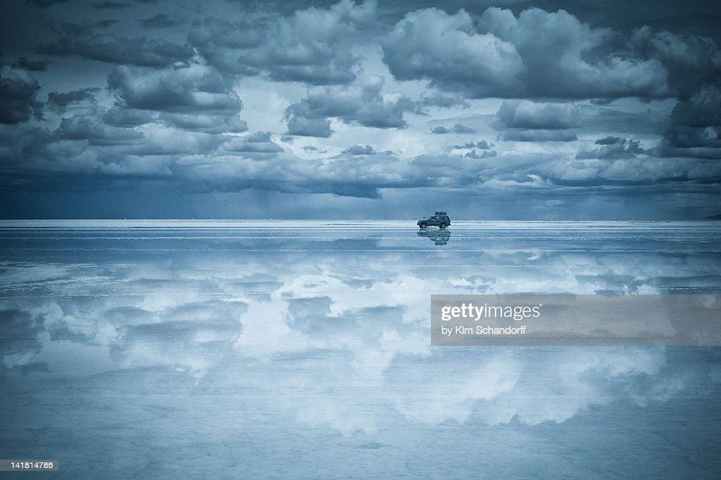 Salt lake Uyuni, Bolivia