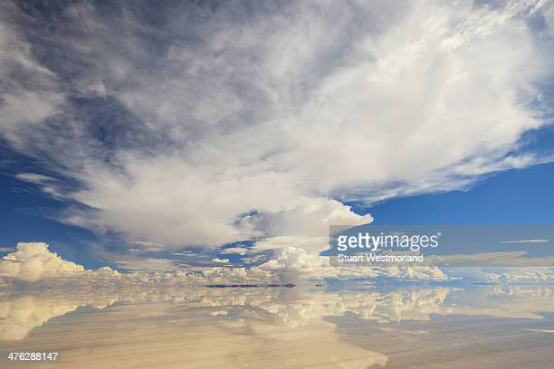 Salt pan reflection