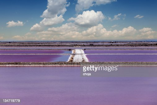 Salt ponds in Southern Provence