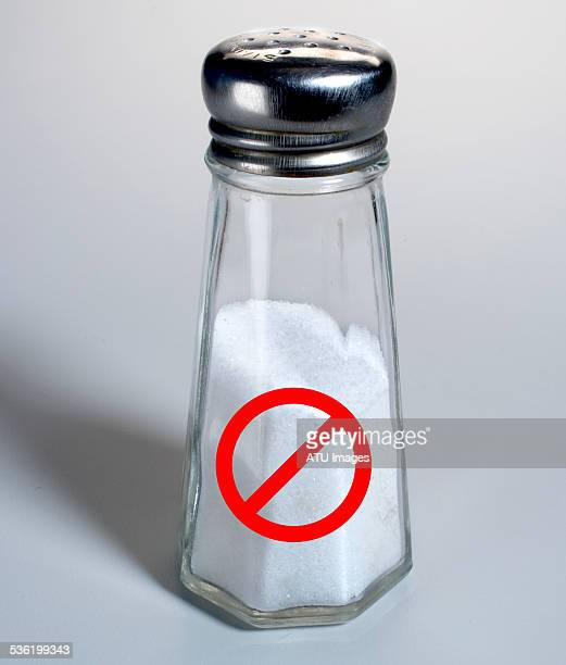Salt shaker ban sign