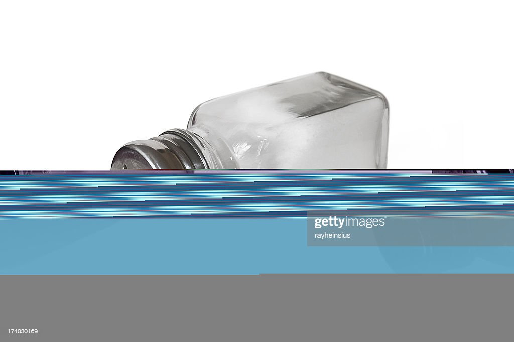 Salt shaker : Stock Photo
