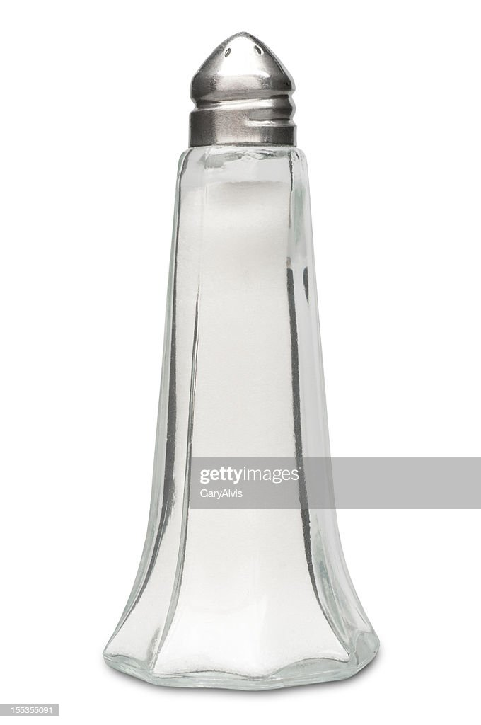 salt shaker with clipping path