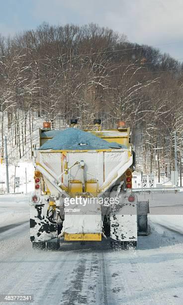 Salt camion