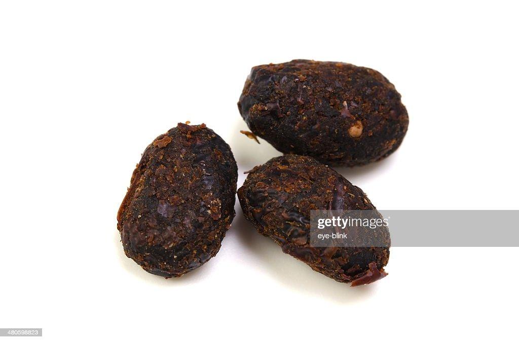 Salted Black Bean : Stock Photo