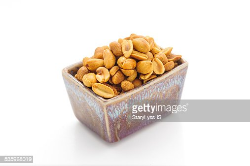 Salted peanuts : Stock Photo