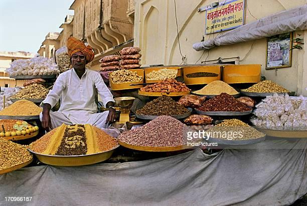 Salted snacks Amer Fort Jaipur Rajasthan India