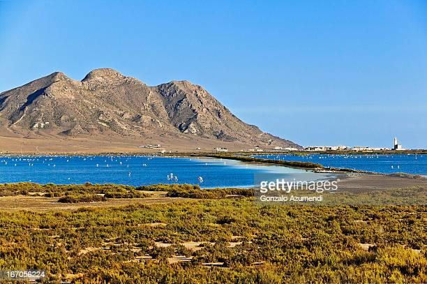 Saltworks in Cabo de Gata.