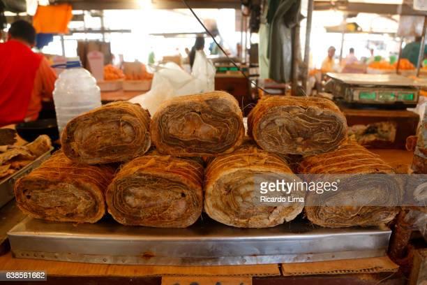 Salty Pirarucu Rolls