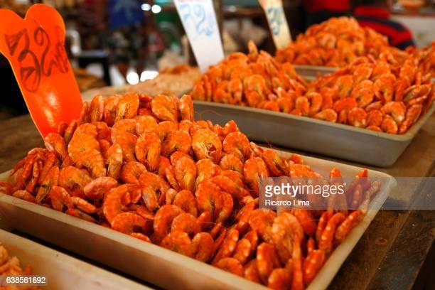 Salty shrimp at Ver o Peso Fair