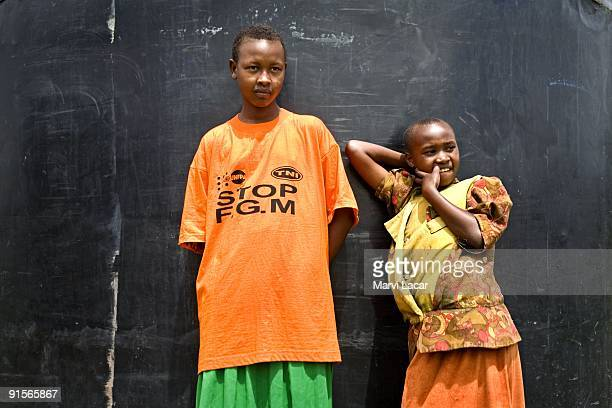 Salula Sylvia Naingisa at the Tasaru Safehouse for Girls December 30 in Narok Kenya The Tasaru Safehouse supports board lodging and education of...