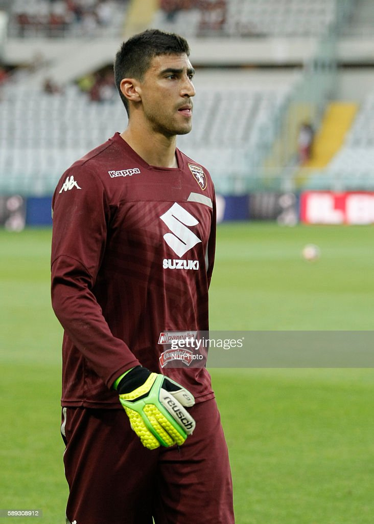 Salvado Ichazo before the Tim Cup 20162017 match between Torino FC and FC Pro Vercelli at the Olympic Stadium of Turin on august 013 2016 in Torino...