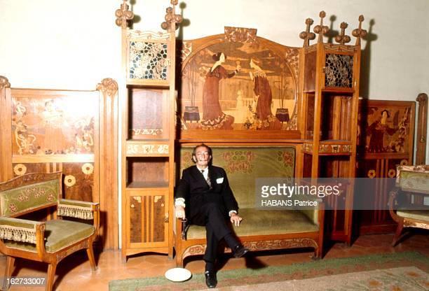 From Barcelona To Paris Paris Juillet 1969 Salvador DALI est descendu à l'hôtel Meurice chambre n° 106 Ayant besoin de repos avant d'affronter les...