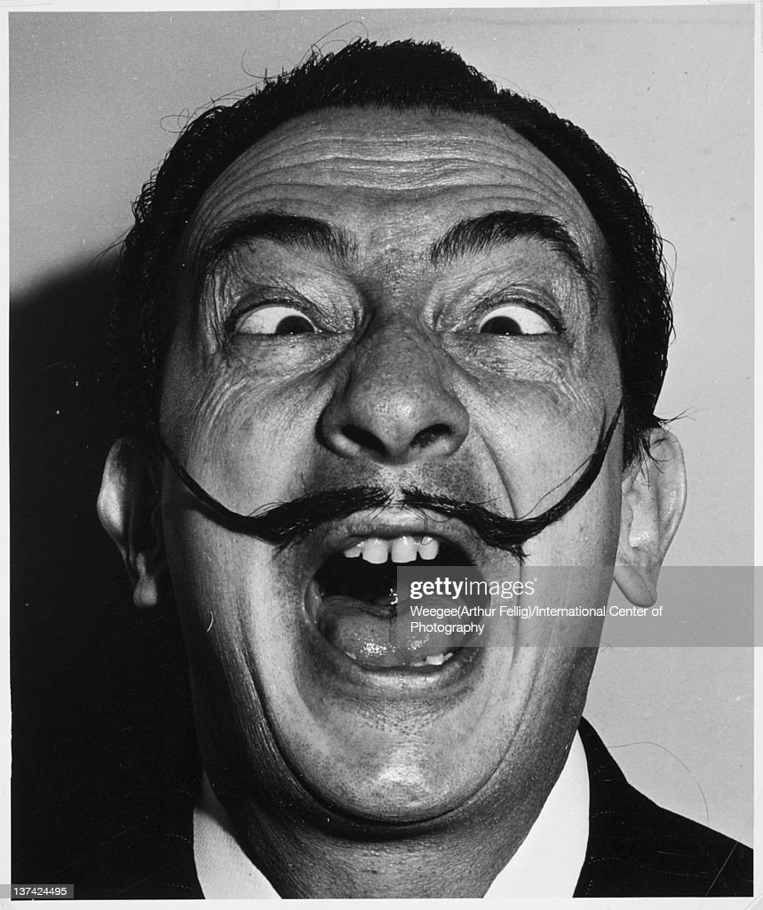 Salvador Dali mid twentieth century Photo by Weegee/International Center of Photography/Getty Images