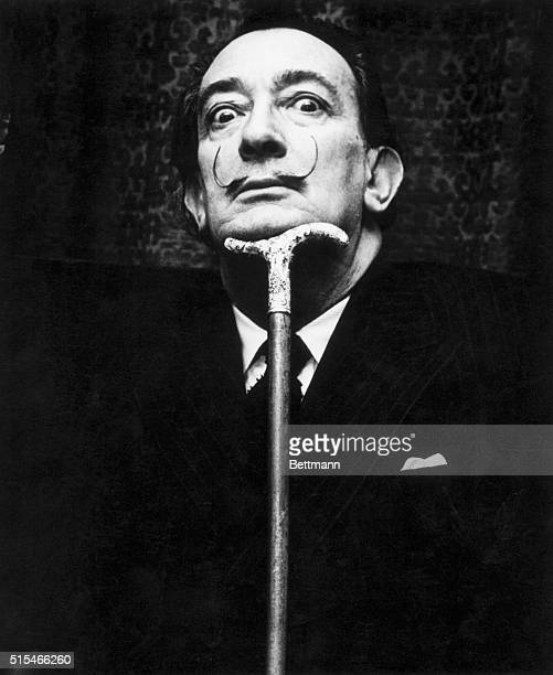 Salvador Dali Spanish surrealist painter Photograph ca 1950s1960s