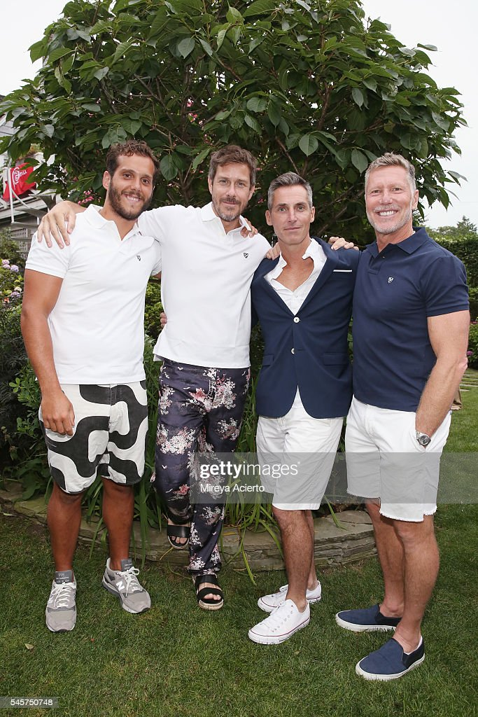 Salvador Noronha publisher of The Daily Front Row Group Mark Tevis chief executive officer of Wilhelmina International Inc Bill Wackermann and real...