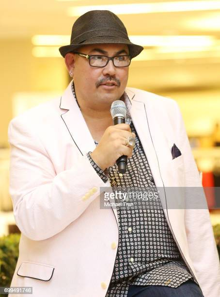 Salvador Perez speaks during 'The Mindy Project' costume conversation event held at The Beverly Center on June 21 2017 in Los Angeles California