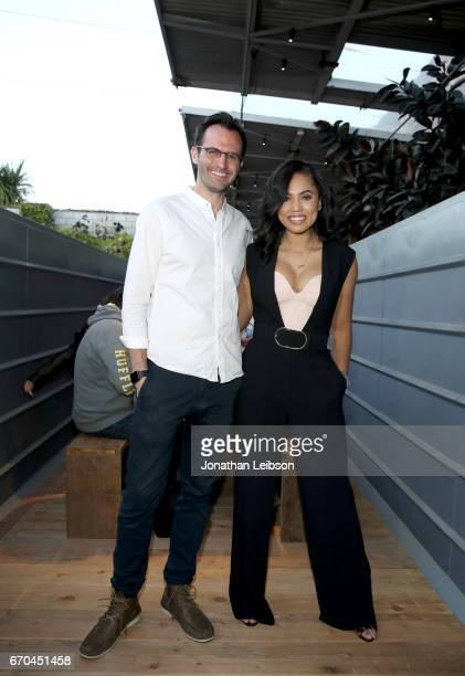 Salvage Supperclub Founder Josh Treuhaft and Ayesha Curry in partnership with The Glad Products Company hosts a #Glad2WasteLess event for Earth Month...