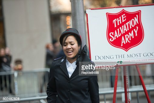 Salvation Army Collection Crew