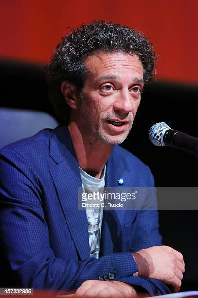 Salvatore Ficarra attends the 'Andiamo A Quel Paese' Press Conference during the 9th Rome Film Festival on October 25 2014 in Rome Italy