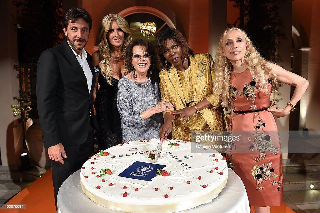 World Food Programme Charity Gala Hosted by MASERATI - 60th Taormina Film Fest