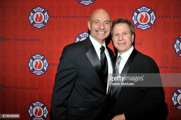 Salvatore J Cassano and Alan Foreman attend FDNY Foundation Dinner Honoring LOUIS R CHENEVERT and FDNY USAR Team at New York Hilton on May 18th 2010...