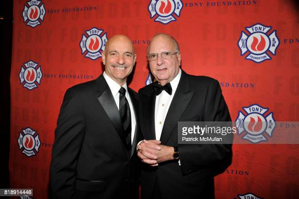 Salvatore J Cassano and Stephen L Ruzow attend FDNY Foundation Dinner Honoring LOUIS R CHENEVERT and FDNY USAR Team at New York Hilton on May 18th...