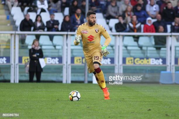 Salvatore Sirigu during the Serie A football match between Torino FC and AS Roma at Olympic Grande Torino Stadium on 22 October 2017 in Turin Italy